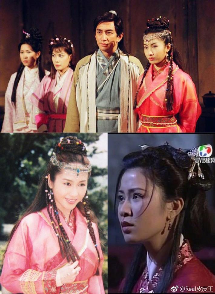 Nghèo nàn khâu tạo hình, làm tóc, dàn mỹ nhân Tân Ỷ Thiên Đồ Long Ký như hóa chị em sinh bốn khó lòng phân biệt - Ảnh 8.