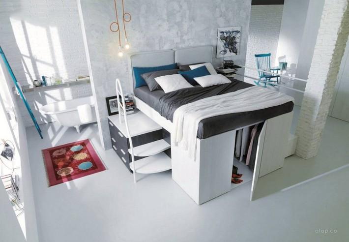 Tư vấn thiết kế phòng ngủ siêu nhỏ 8m² đầy đủ tiện ích cho đôi vợ chồng trẻ - Ảnh 4.