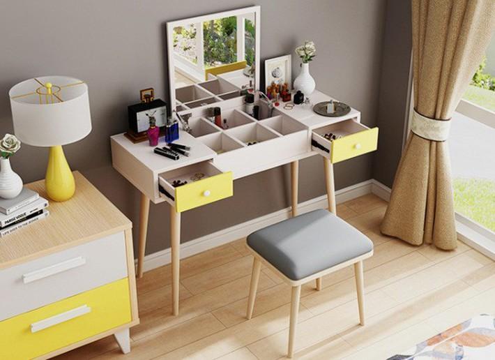 Tư vấn thiết kế phòng ngủ siêu nhỏ 8m² đầy đủ tiện ích cho đôi vợ chồng trẻ - Ảnh 7.