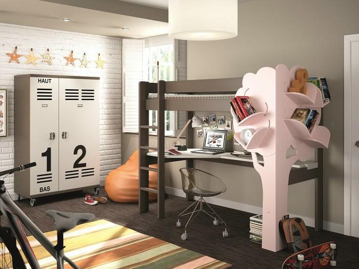 Mẫu thiết kế tủ sách dựa trên ý tưởng cây xanh giúp bé thích đọc sách hơn - Ảnh 2.