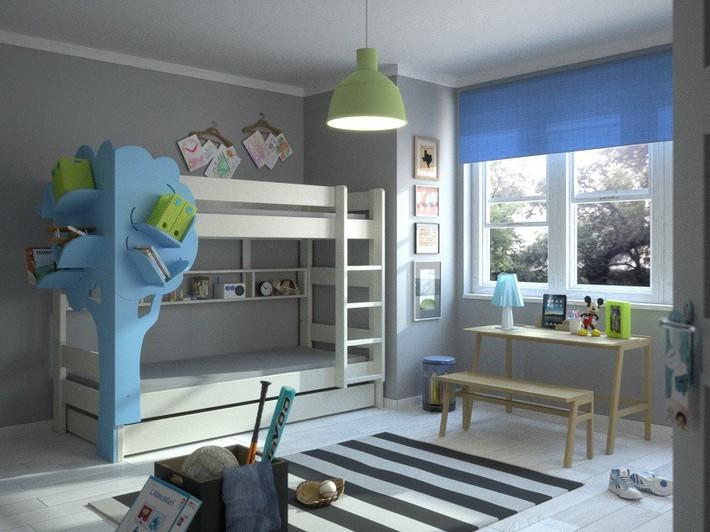 Mẫu thiết kế tủ sách dựa trên ý tưởng cây xanh giúp bé thích đọc sách hơn - Ảnh 3.