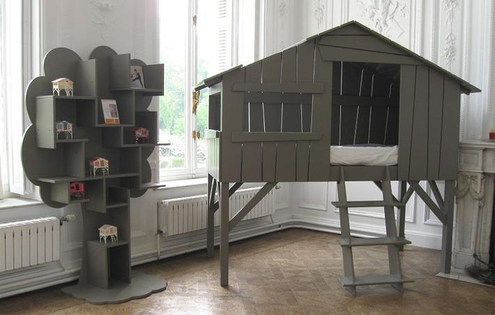 Mẫu thiết kế tủ sách dựa trên ý tưởng cây xanh giúp bé thích đọc sách hơn - Ảnh 6.