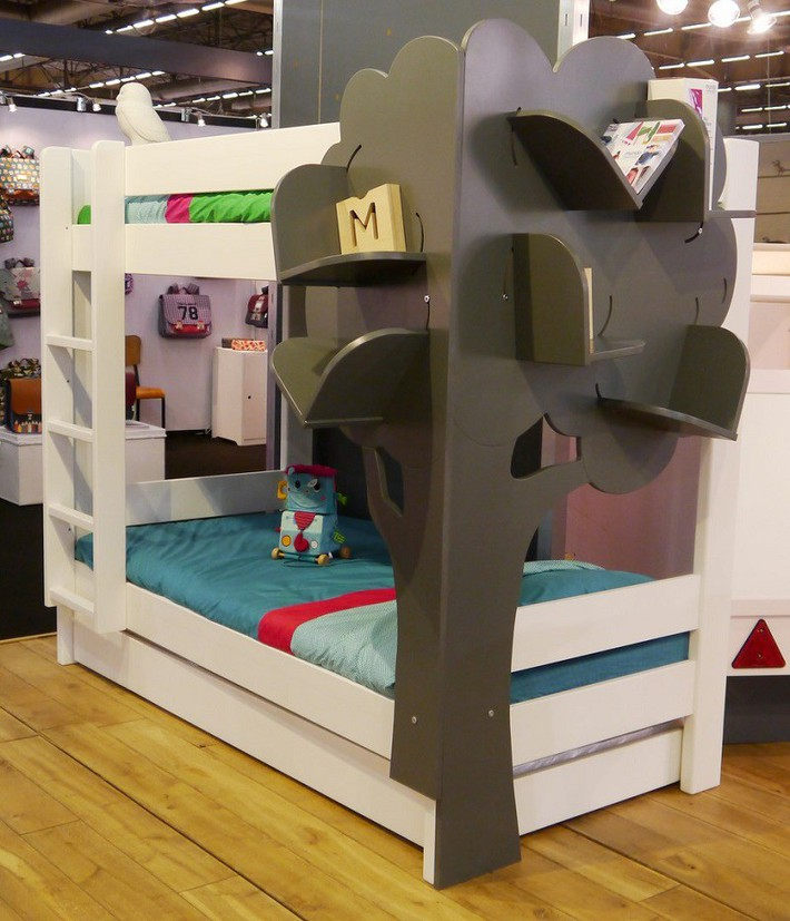 Mẫu thiết kế tủ sách dựa trên ý tưởng cây xanh giúp bé thích đọc sách hơn - Ảnh 8.