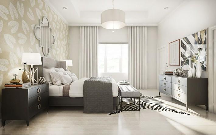 Bỏ túi vài mẹo trang trí phòng ngủ khiến không gian nghỉ ngơi của bạn đẹp chẳng kém trên tạp chí - Ảnh 17.