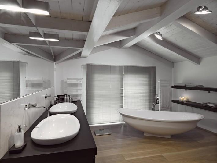 Có nên sử dụng sàn gỗ trong nhà bếp và phòng tắm? - Ảnh 5.