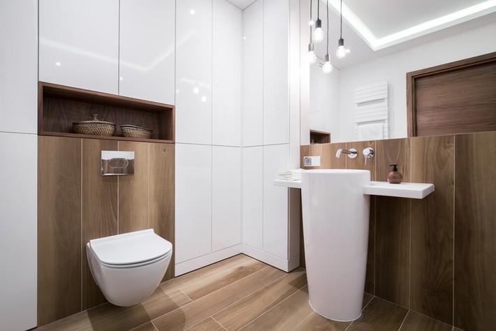 Có nên sử dụng sàn gỗ trong nhà bếp và phòng tắm? - Ảnh 6.