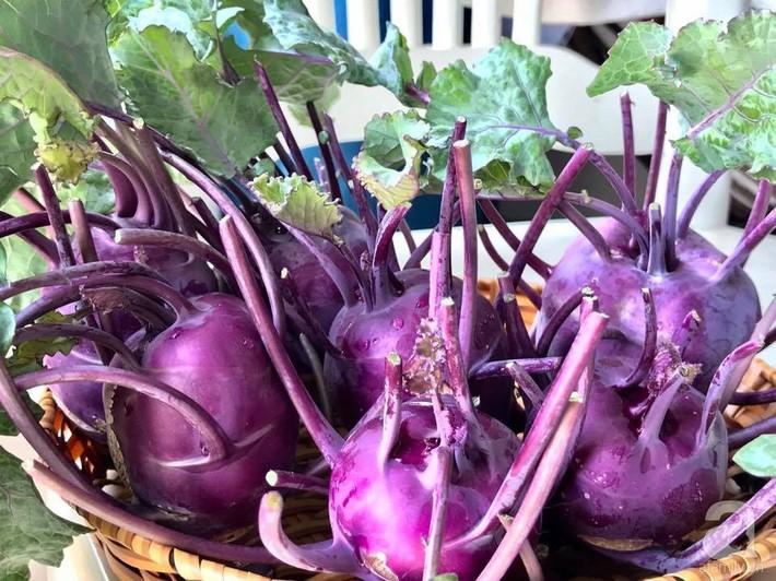 Khu vườn xanh mướt một màu như trang trại rau quả sạch mini của mẹ đảm ở Sài Gòn - Ảnh 4.