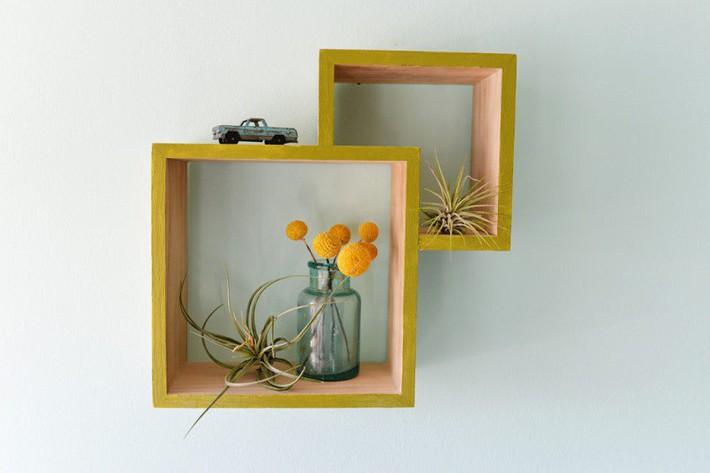 10 mẫu kệ lưu trữ đơn giản mà bạn có thể tự thực hiện ở nhà, đảm bảo đẹp hoàn hảo cho mọi không gian - Ảnh 4.