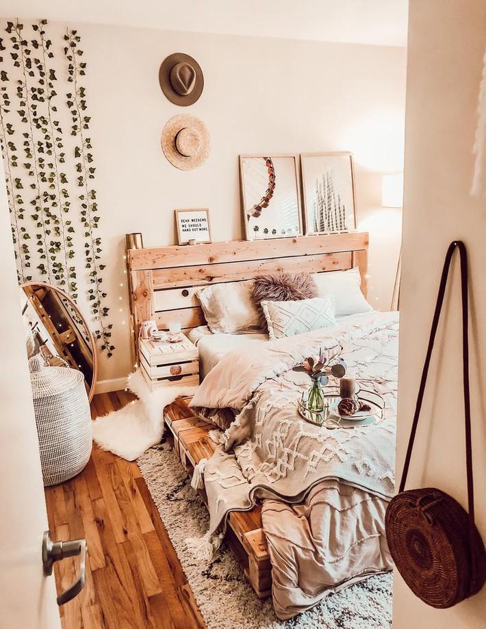 Giường pallet, loại giường ngon - bổ - rẻ, góp mặt trong không gian nào cũng xinh xắn, hài hòa - Ảnh 8.