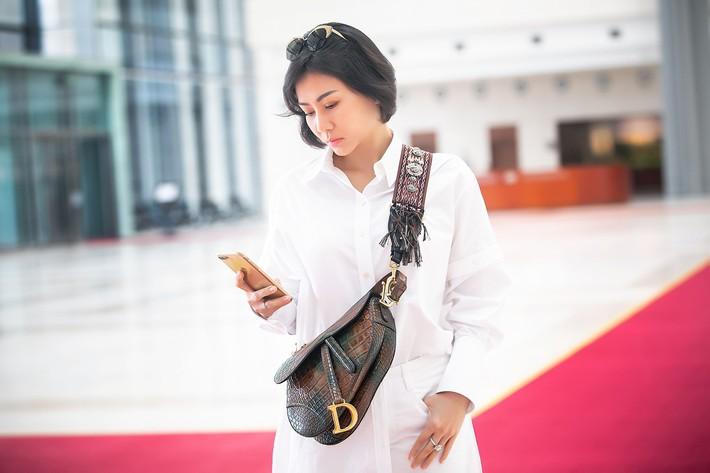 Đến hậu trường sự kiện, Thu Minh gây chú ý khi diện túi hiệu, thế giới chỉ có 3 chiếc - Ảnh 2.
