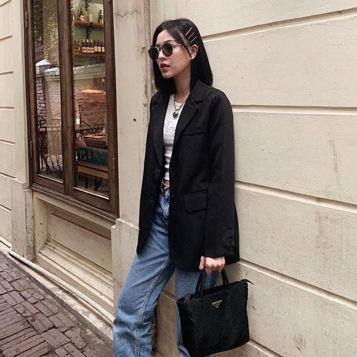 Tuy là bạn thân nhưng street style của Chi Pu và Quỳnh Anh Shyn cứ như 2 đường thẳng song song vậy - Ảnh 5.