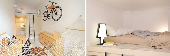 Cuộc đấu tranh để nhét thật nhiều vật dụng vào một phòng ngủ nhỏ đã đến hồi kết khi có quá nhiều các ý tưởng thiết kế truyền cảm hứng thế này đây - Ảnh 10.