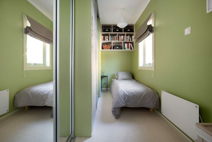 Cuộc đấu tranh để nhét thật nhiều vật dụng vào một phòng ngủ nhỏ đã đến hồi kết khi có quá nhiều các ý tưởng thiết kế truyền cảm hứng thế này đây - Ảnh 13.