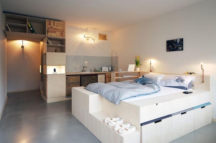 Cuộc đấu tranh để nhét thật nhiều vật dụng vào một phòng ngủ nhỏ đã đến hồi kết khi có quá nhiều các ý tưởng thiết kế truyền cảm hứng thế này đây - Ảnh 14.