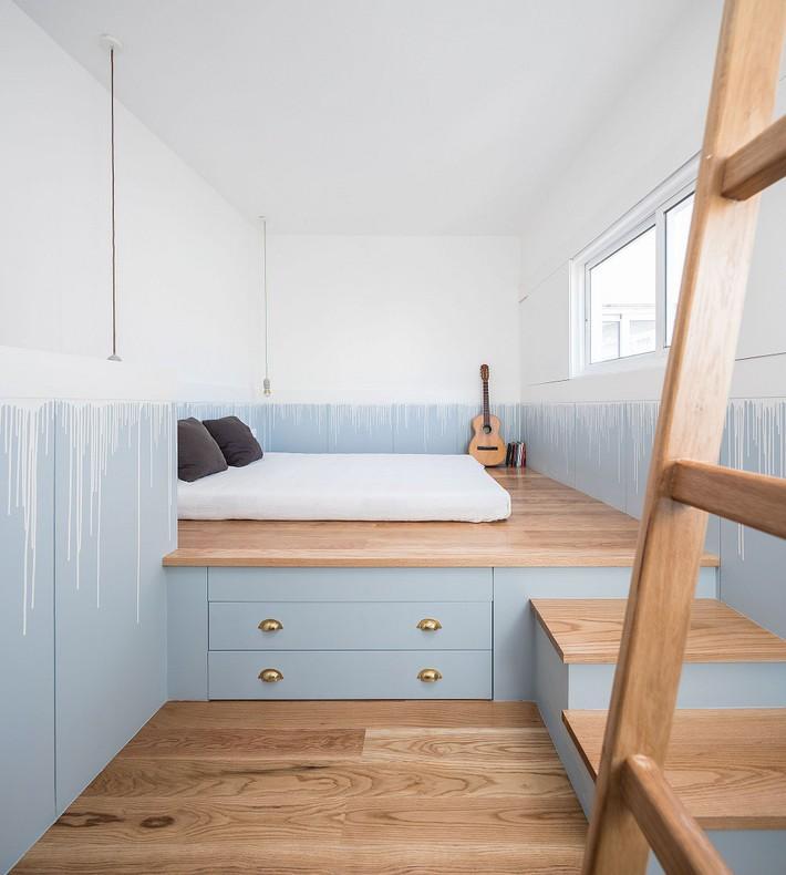 Cuộc đấu tranh để nhét thật nhiều vật dụng vào một phòng ngủ nhỏ đã đến hồi kết khi có quá nhiều các ý tưởng thiết kế truyền cảm hứng thế này đây - Ảnh 4.