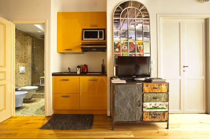 10 kiểu bếp nhỏ sành điệu với thiết kế không gian tối ưu - Ảnh 10.
