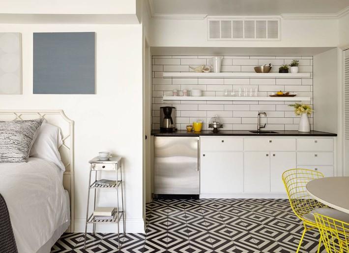 10 kiểu bếp nhỏ sành điệu với thiết kế không gian tối ưu - Ảnh 2.