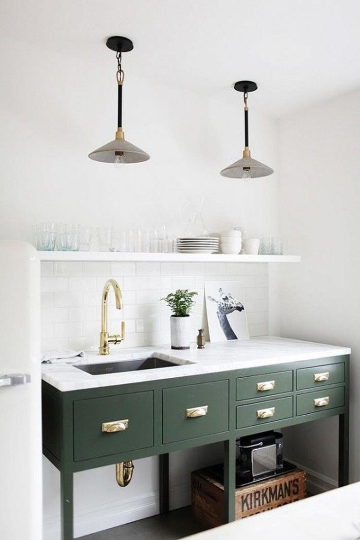 10 kiểu bếp nhỏ sành điệu với thiết kế không gian tối ưu - Ảnh 3.