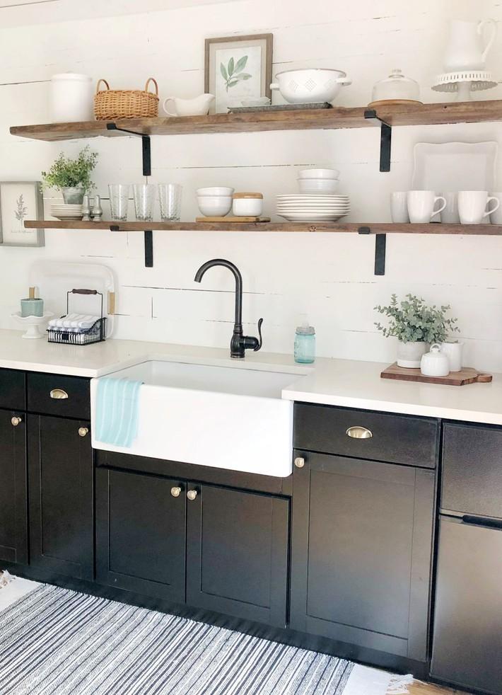 10 kiểu bếp nhỏ sành điệu với thiết kế không gian tối ưu - Ảnh 4.
