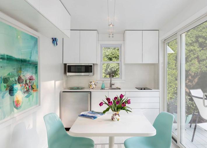 10 kiểu bếp nhỏ sành điệu với thiết kế không gian tối ưu - Ảnh 5.