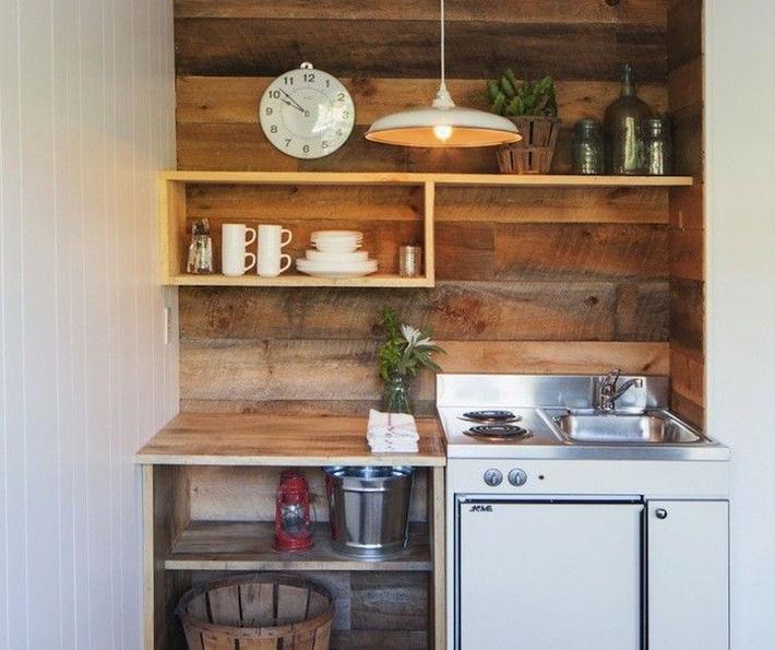 10 kiểu bếp nhỏ sành điệu với thiết kế không gian tối ưu - Ảnh 6.