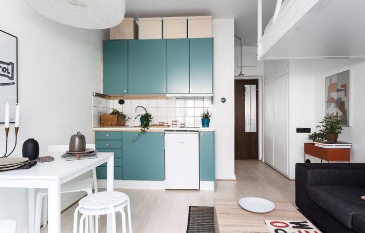10 kiểu bếp nhỏ sành điệu với thiết kế không gian tối ưu - Ảnh 9.