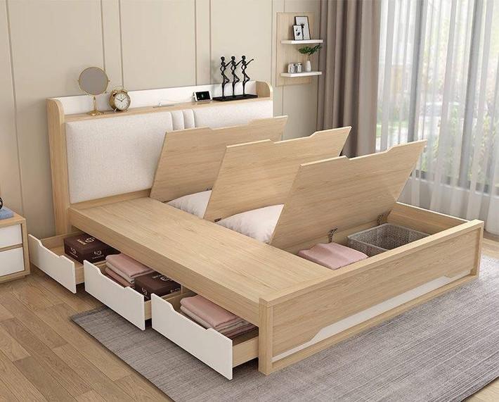 Tư vấn thiết kế phòng ngủ siêu bé với diện tích 8,4m² cho gia đình 5 người - Ảnh 4.
