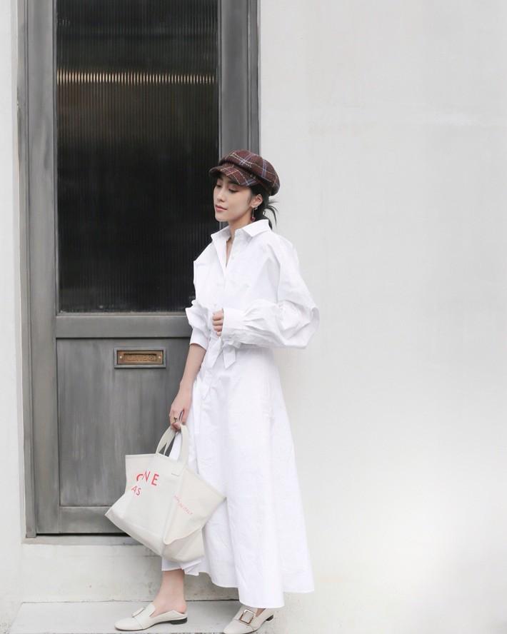 Lên đồ chuẩn như công sở Hàn với 15 gợi ý từ street style tuần này  - Ảnh 5.
