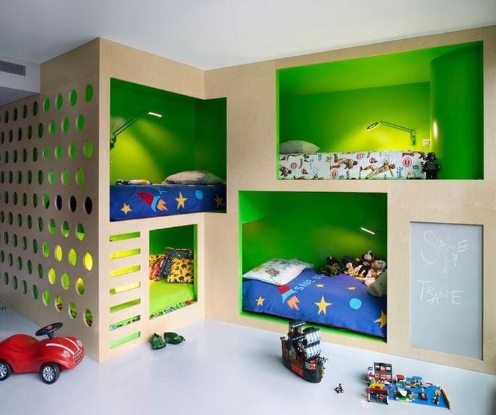 Thiết kế giường tầng đa năng: Món đồ tuyệt vời giúp bạn tiết kiệm không gian phòng ngủ phù hợp cho cả người lớn và trẻ nhỏ - Ảnh 1.