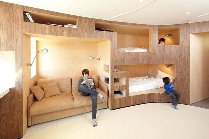 Thiết kế giường tầng đa năng: Món đồ tuyệt vời giúp bạn tiết kiệm không gian phòng ngủ phù hợp cho cả người lớn và trẻ nhỏ - Ảnh 3.