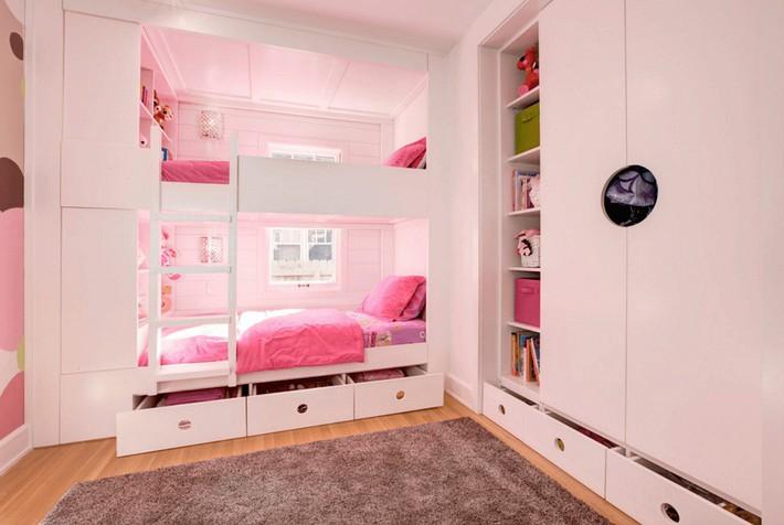 Thiết kế giường tầng đa năng: Món đồ tuyệt vời giúp bạn tiết kiệm không gian phòng ngủ phù hợp cho cả người lớn và trẻ nhỏ - Ảnh 4.