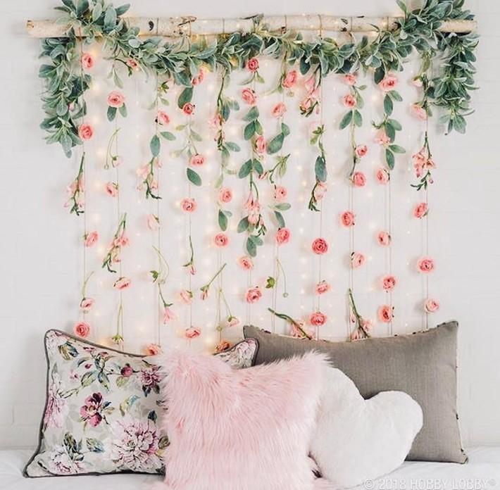 Trang trí giường cưới đẹp ngọt ngào và lãng mạn với hoa tươi - Ảnh 9.