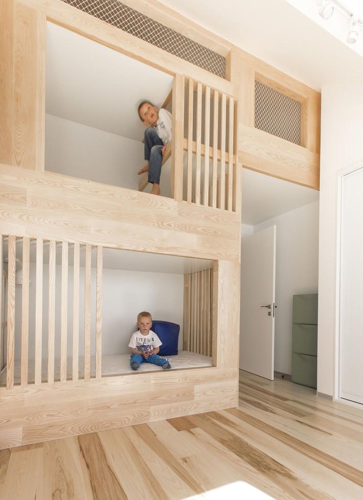 Thiết kế giường tầng đa năng: Món đồ tuyệt vời giúp bạn tiết kiệm không gian phòng ngủ phù hợp cho cả người lớn và trẻ nhỏ - Ảnh 6.