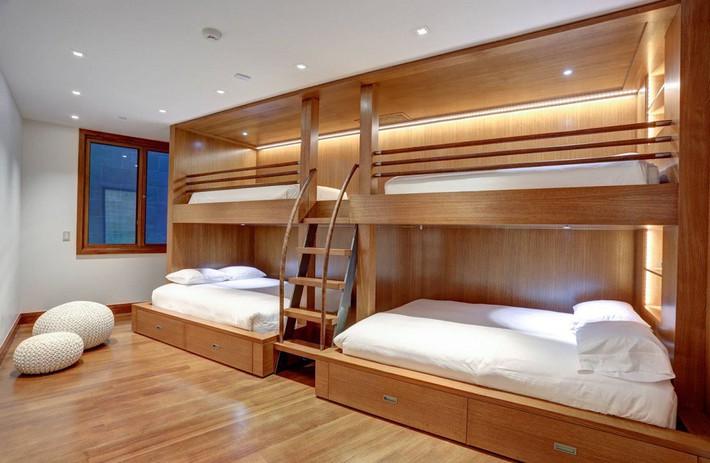 Thiết kế giường tầng đa năng: Món đồ tuyệt vời giúp bạn tiết kiệm không gian phòng ngủ phù hợp cho cả người lớn và trẻ nhỏ - Ảnh 7.