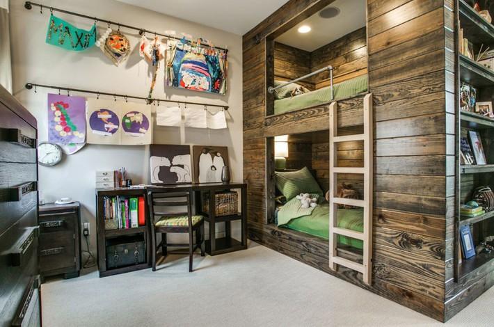Thiết kế giường tầng đa năng: Món đồ tuyệt vời giúp bạn tiết kiệm không gian phòng ngủ phù hợp cho cả người lớn và trẻ nhỏ - Ảnh 9.