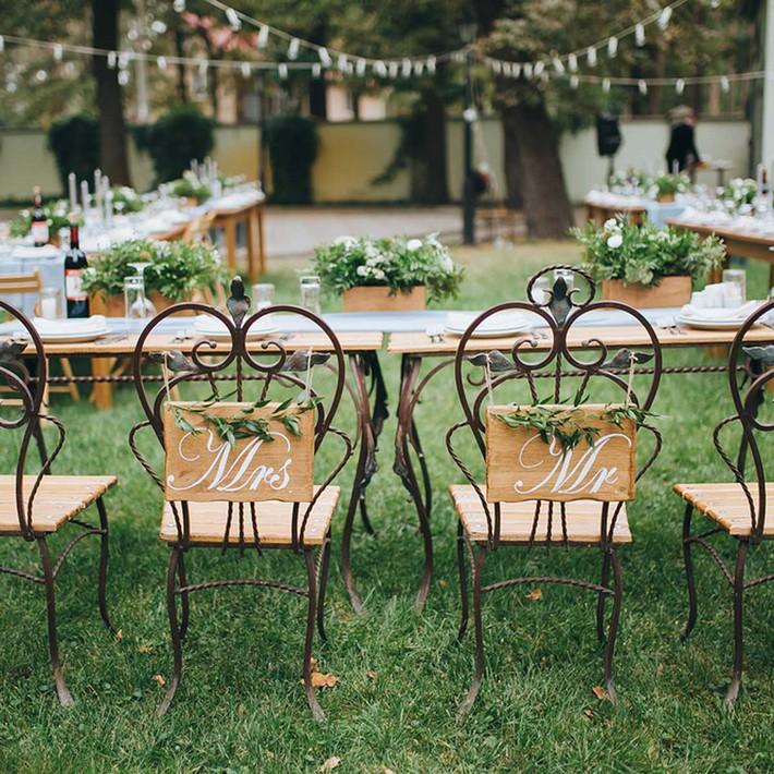 14 ý tưởng trang trí tiệc cưới sân vườn vừa sang trọng vừa lộng lẫy - Ảnh 12.