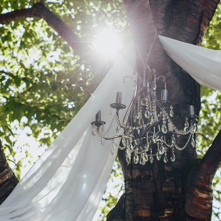 14 ý tưởng trang trí tiệc cưới sân vườn vừa sang trọng vừa lộng lẫy - Ảnh 3.