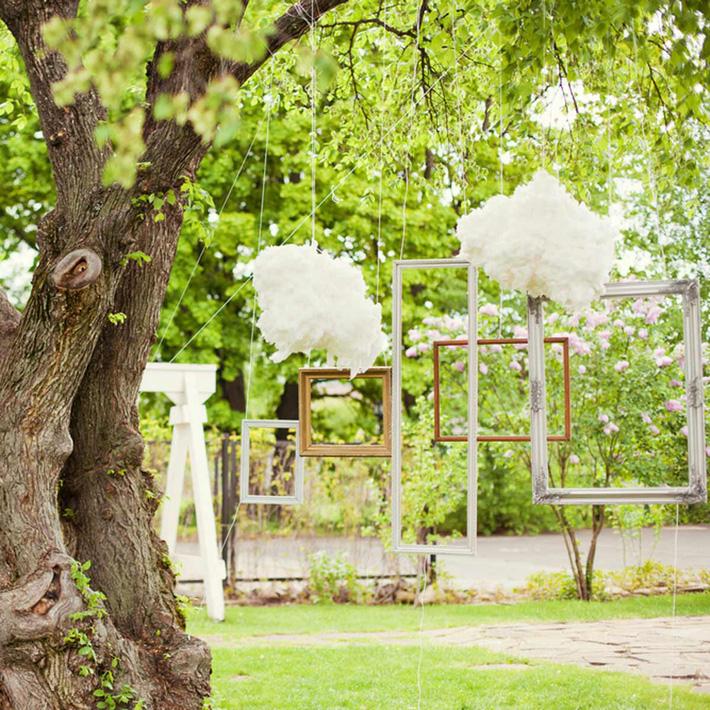 14 ý tưởng trang trí tiệc cưới sân vườn vừa sang trọng vừa lộng lẫy - Ảnh 4.
