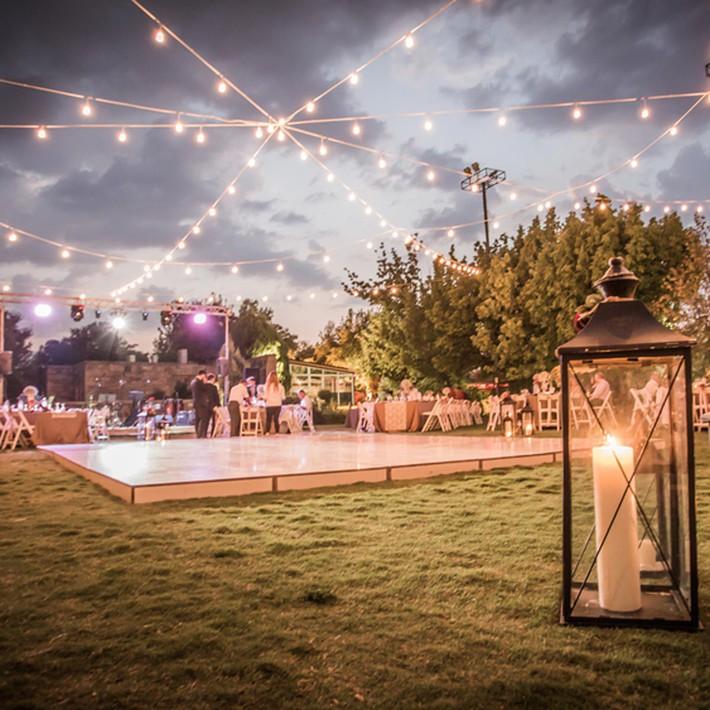 14 ý tưởng trang trí tiệc cưới sân vườn vừa sang trọng vừa lộng lẫy - Ảnh 6.