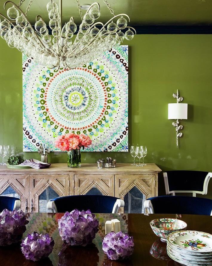 Mách bạn chỉ với một bí kíp thôi cũng đủ khiến căn phòng ăn gia đình đẹp hớp hồn - Ảnh 7.