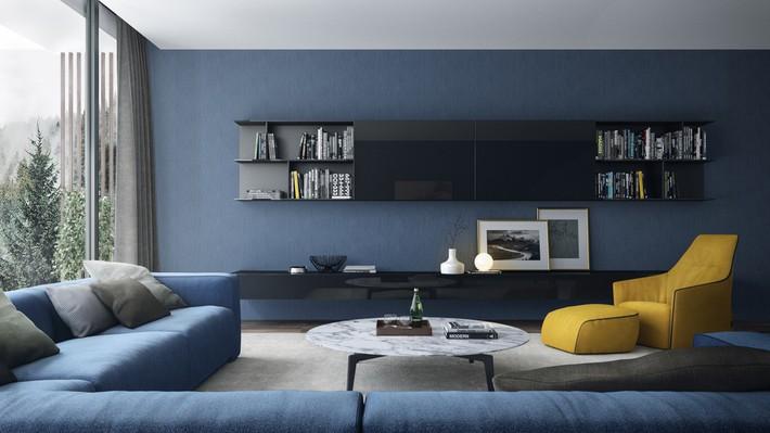 Tư vấn thiết kế nhà phố với 2 phòng ngủ đẹp ấn tượng và hiện đại không kém gì nhà trong phim - Ảnh 3.
