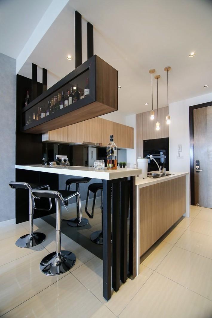 Tư vấn thiết kế nhà phố với 2 phòng ngủ đẹp ấn tượng và hiện đại không kém gì nhà trong phim - Ảnh 5.