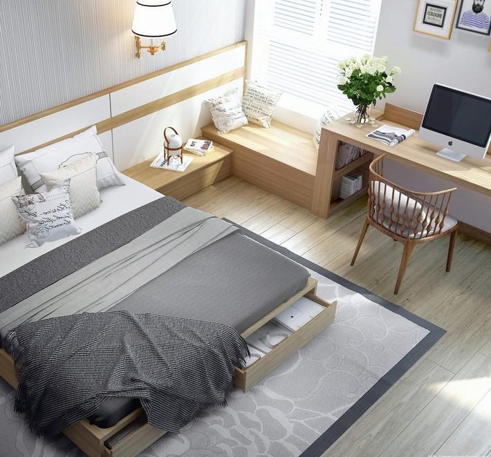 Tư vấn thiết kế nhà phố với 2 phòng ngủ đẹp ấn tượng và hiện đại không kém gì nhà trong phim - Ảnh 8.