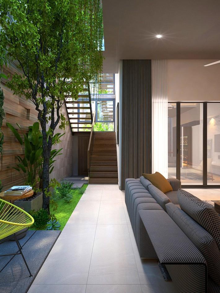Tư vấn thiết kế nhà phố với 2 phòng ngủ đẹp ấn tượng và hiện đại không kém gì nhà trong phim - Ảnh 9.