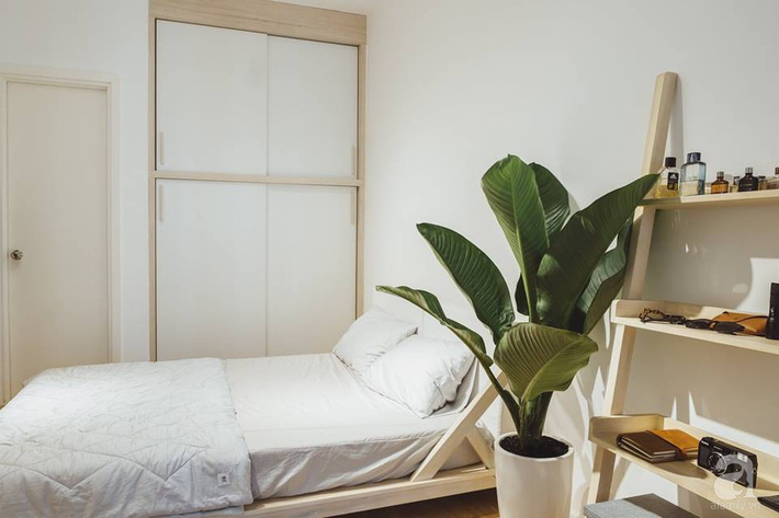 Căn hộ 63m² đẹp hút hồn nhờ thiết kế theo phong cách Nhật của chàng trai độc thân ở Sài Gòn - Ảnh 12.