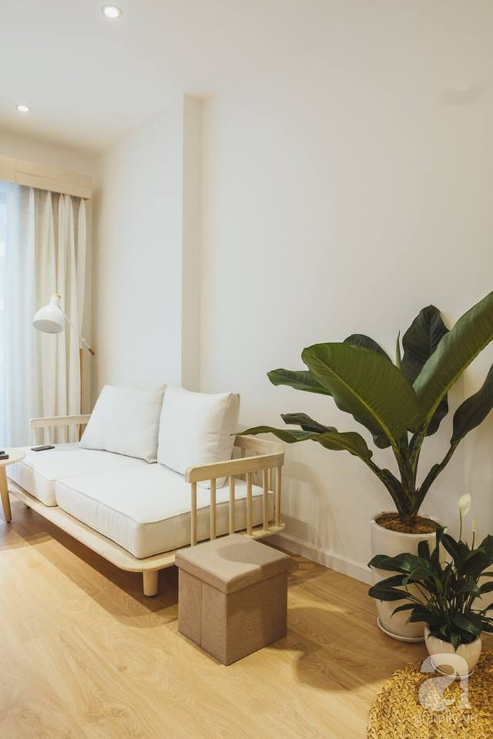 Căn hộ 63m² đẹp hút hồn nhờ thiết kế theo phong cách Nhật của chàng trai độc thân ở Sài Gòn - Ảnh 8.