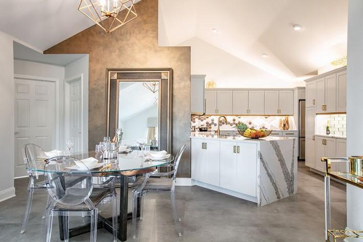Nâng tầm phòng ăn gia đình chỉ với một món đồ vô cùng giản đơn lại quen thuộc - Ảnh 4.