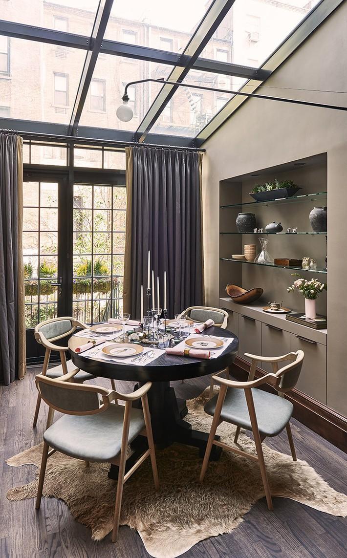 Không cần phải đắn đo nhiều vì bàn tròn luôn là lựa chọn tuyệt vời cho phòng ăn gia đình - Ảnh 16.