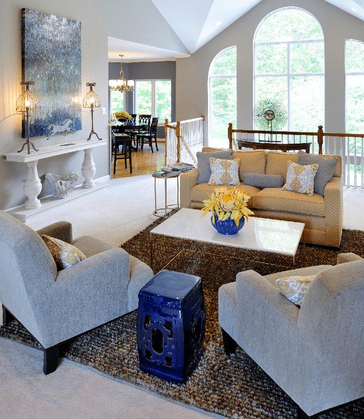 Muốn phòng khách màu xám vừa đẹp vừa sang thì bạn nhất định phải biết đến điều này - Ảnh 3.