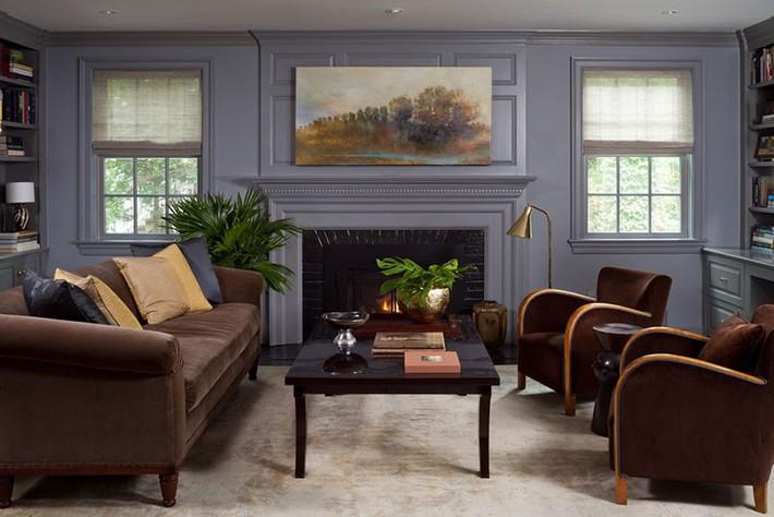 Muốn phòng khách màu xám vừa đẹp vừa sang thì bạn nhất định phải biết đến điều này - Ảnh 8.